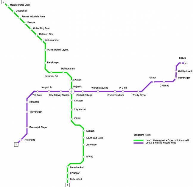 Subway and Metro Train Maps and Information
